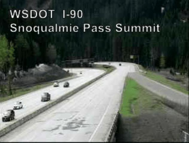 Snoqualmie Pass Summit WSDOT I-90 Camera